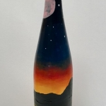 winebottlesunset