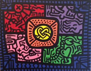 Tribute to Keith Haring