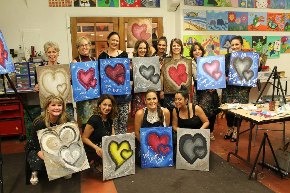 creative juice art bar fun painting classes in tucson